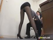 篠田あゆみがド淫乱秘書に変身して性欲を処理してくれる